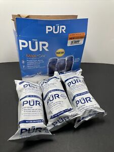 Lot of 3 PUR MAXION Replacement Water Filters for Pitchers & Dispensers PPF900Z