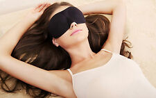 1pc 3D Cubierta De Esponja Suave de Ojos Ocultador de viaje ayuda para dormir relajarse Máscara Sombra venda de los ojos