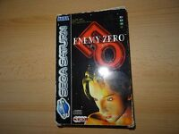 Sega Saturn - ENEMY ZERO- Complete with outer sleeve 4 discs and box  - PAL.