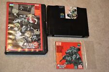 METAL SLUG 5 AES Neo Geo Japanese Version Complete Authentic FREE SHIPPING***