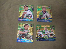 2007 RUGBY LEAGUE GOLD TAZO  TEAM SET - CANBERRA RAIDERS
