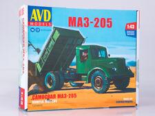 Kit model  1:43 MAZ-205 dump truck