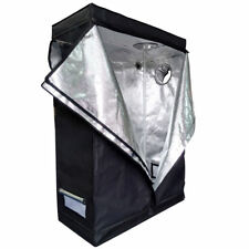 Home Use Hydroponic Plant Grow Tent Room PEVA High Reflective Dismountable Black