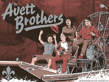 Avett Brothers Poster Heymann Performing Arts Center Lafayette, LA 3/5/18