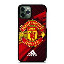 MANCHESTER UNITED LOGO iPhone 6 6S 7 8 Plus X XS Max XR 11 Pro Max Case Cover