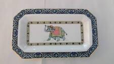 piattino rettangolare blue elephant wedgwood