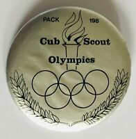 Cub Scout Olympics Pack 193 American Boy Scouts Pin Badge Rare Vintage (R7)