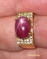 5.30 ct Star Ruby -  Sapphire Gemstone Ring