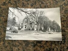 Vintage 1967 Postcard RPPC MN First English Lutheran Church Faribault Photograph
