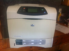 HP LASERJET 4250n  PRINTER  90 DAY WARRANTY 34,700 PAGES PRICE FOR QUICK SALE