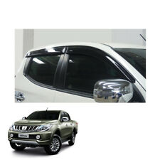 Mitsubishi Pickup L200 Triton 2015 - 17 fit Wind Deflector Weather Shield 4 Door