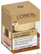 Loreal Age Perfect Rosy Tone Moisturizer With LHA + Imperial Peony-Damaged Box