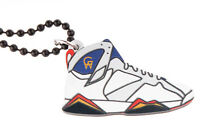 Good Wood NYC Olympic 7 Sneaker Necklace Wht/Red/Blu VII Dream Team Barcelona