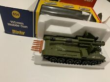 Dinky 654 155 mm Mobile Gun Mint Boxed