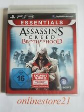 Assassin's Creed Brotherhood  Essentials PlayStation 3 NEU PS3