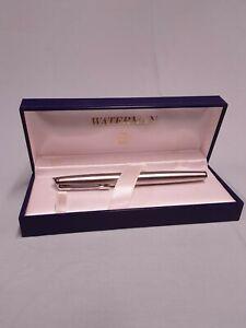 Waterman Stainless Steel Fountain Pen