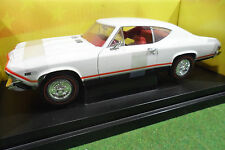 CHEVROLET CHEVELLE SS396 blanc 1/18 AMERICAN MUSCLE ERTL 36382 voiture miniature