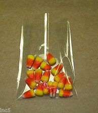 """100 - 2""""x 12"""" Crystal Clear Flat Cello Bags"""