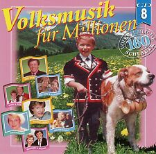 VOLKSMUSIK FÜR MILLIONEN - VOLUME 8 / VARIOUS ARTISTS / CD - NEU