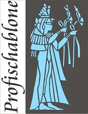 Dekorschablone, Wandschablone, Malerschablone, Stupfschablone, ägyptische Phinx1