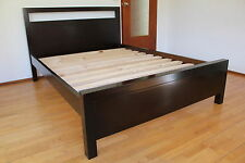 PTB-001 Brand New Local Manufactural Pine Timber Queen Size Bed furniture