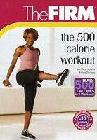 The FIRM 500 CALORIE WORKOUT (DVD) workout exercise and burn noontime SEALED NEW
