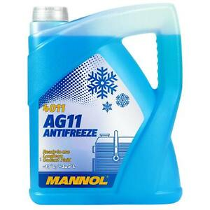 Frostschutz Kühler BLAU 5 Liter MANNOL Longterm Antifreeze AG11 -40°C Kühlmittel