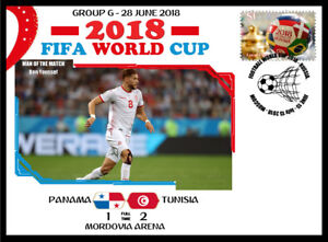 PANAMA V TUNISIA 2018 FOOTBALL WORLD CUP GROUP G MATCH COVER - BEN YOUSSEF