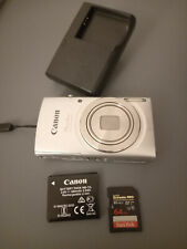 Canon Powershot Elph 180 Camera 20.0MP 8x Optical Zoom, 64GB, case, charger