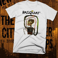 New York Graffiti T-Shirt Abstract Basquiat Afro Picasso Brooklyn  New
