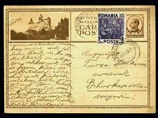 1934/1939 BRAN Castle,Vampire DRACULA' castle,Vlad the Impaler,Romania,rare card