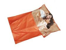 Outdoor Camping Survival Shelter Double Sleeping Bag Liner Sack 145cm x200cm