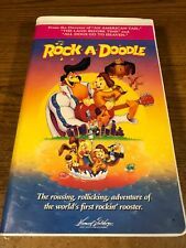 Rock-A-Doodle  VHS VCR Video Tape Used Clamshell  Animation