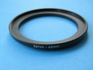 52mm to 62mm Step Up Step-Up Ring Camera Lens Filter Adapter Ring 52mm-62mm