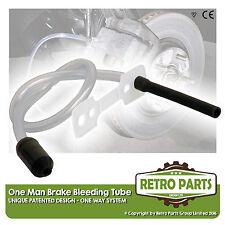One Man Freno Spurgo Kit One Way Tubo Per vintage con auto. fai da te Strumento di Spurgo