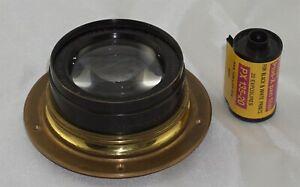 Bausch & Lomb Zeiss UNAR Series IB 5x7 Lens Rare Fast f4 version not f5