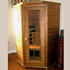 Clearlight Premier IS-1 One Person Far Infrared Sauna with both Ceramic and Carb