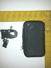 *NEW Bicycle/Motorcycle Cell Phone/GPS Handlebars Mount + Pouch *FAST SHIPPING!!