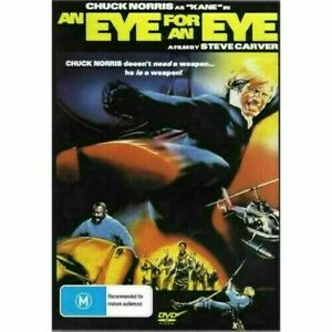An Eye for an Eye DVD Chuck Norris New and Sealed Australia