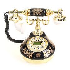 Telefono Fisso Vintage Vivavoce Voce Chiara + Filo Universale Cornetta per Casa