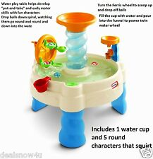 Kids Splash Water Table Children Activity Center Toy Game Play Set Yard Outdoor