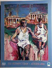 Athens 2004 Poster U.S. Olympic Team - Mina Papatheodorou-Valyraki Official USOC