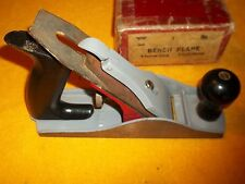 Vintage Millers Falls No 9 900 Bench Plane With Box