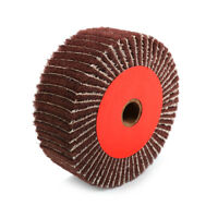 1Pc Red Non-woven Abrasive Grinding Flap Interleaf Wheel 240 Grit 100MM~300MM