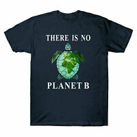 Funny There Is No Planet B Rescue Turtle Men's T-Shirt Turtle Lovers Tee