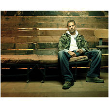 Paul Walker Seated on Old Bed by Fence 8 x 10 Inch Photo