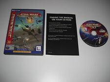 Star Wars - ROGUE SQUADRON 3D Pc Cd Rom FAST DISPATCH