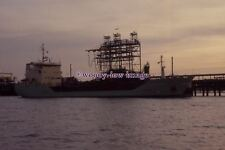 SLBLU56 - Danish Coastal Tanker - Stolt Jytte Terkol , built 1991 - Colour Slide