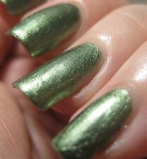 NEW! RIMMEL nail polish lacquer in RAGS TO RICHES ~ GREEN SHIMMER