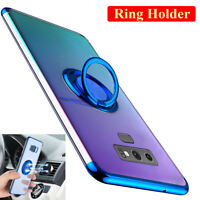 Slim TPU Hybrid Ring Holder Stand Case Cover for Samsung Galaxy Note 9/S10 Plus